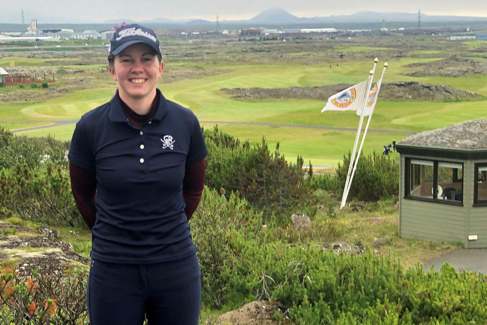 Ragnhildur Kristinsdóttir úr Golfklúbbi Reykjavíkur sigraði í Hvaleyrarbikarnum í golfi …