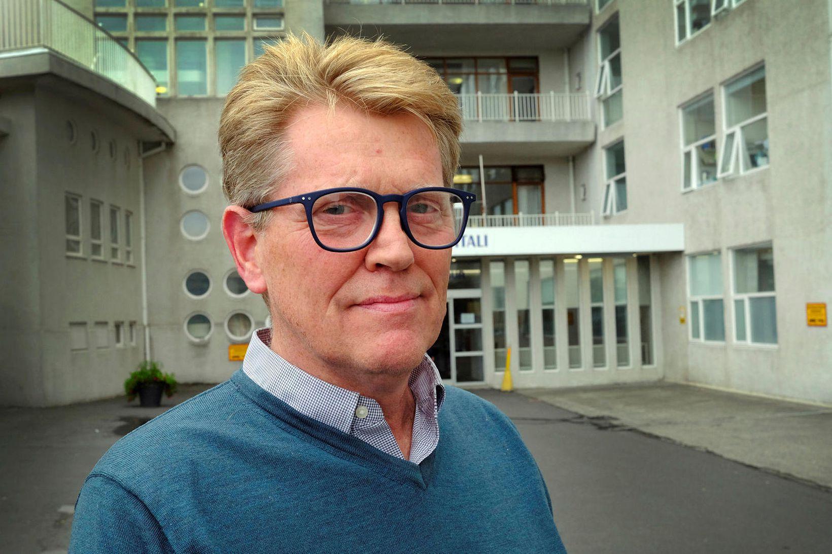 Már Kristjánsson, formaður farsóttarnefndar Landspítalans og yfirlæknir smitsjúkdómadeildar.