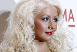 Tónlistarkonan Christina Aguilera