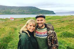 Björk Eiðsdóttir og Karl Ægir Karlsson eignuðust son.