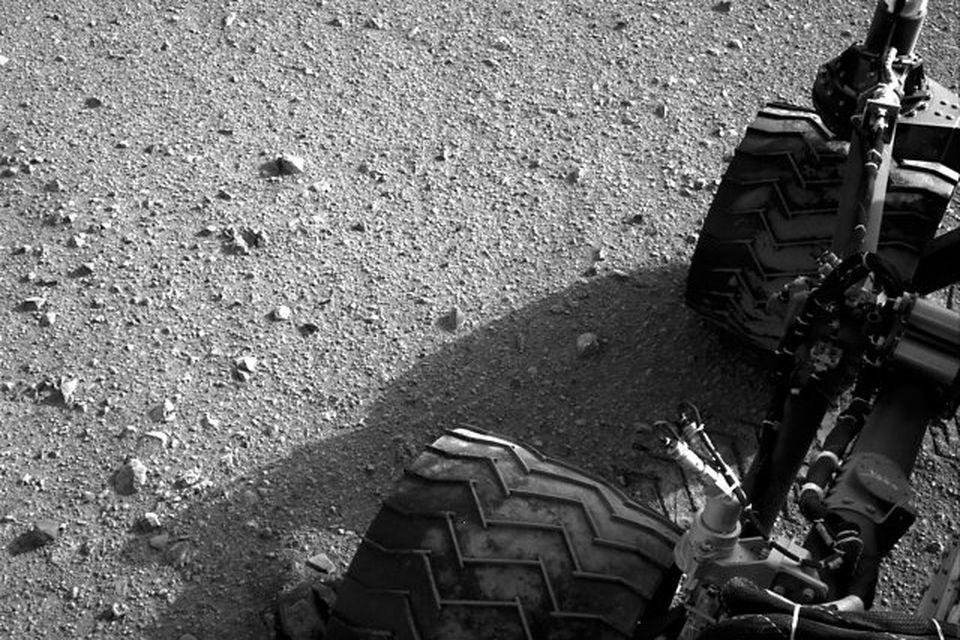 Curiosity hefur ekið rúmlega 480 km á Mars.