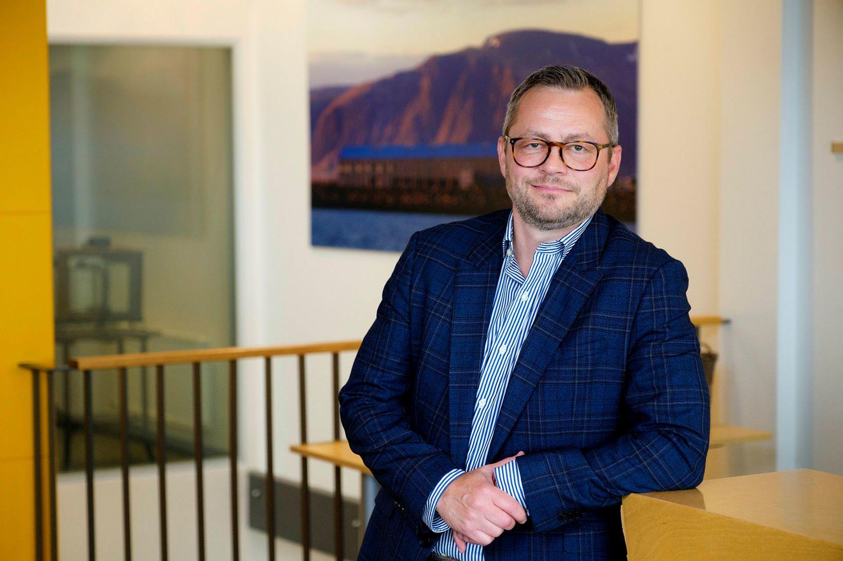 Árni Geir segir áhugaverða möguleika á sviði lýsisvinnslu úr ræktuðum …