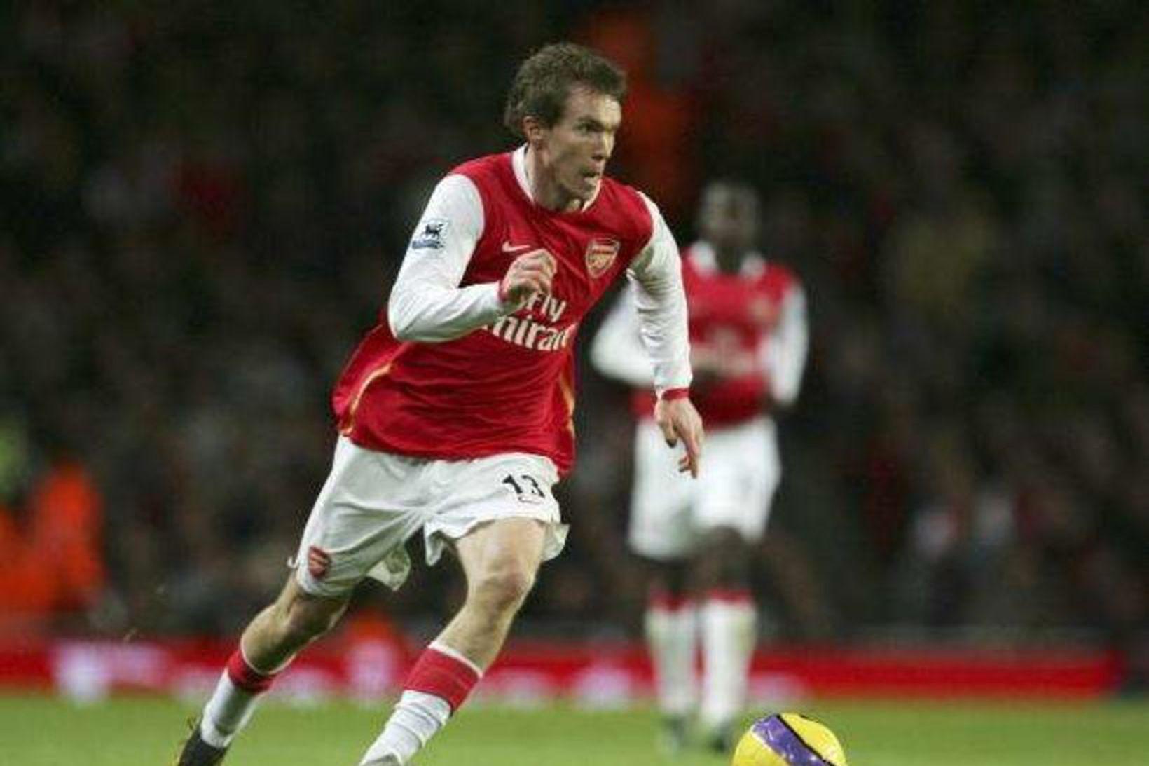 Aleksandr Hleb lék með Arsenal á árunum 2005 til ársins …