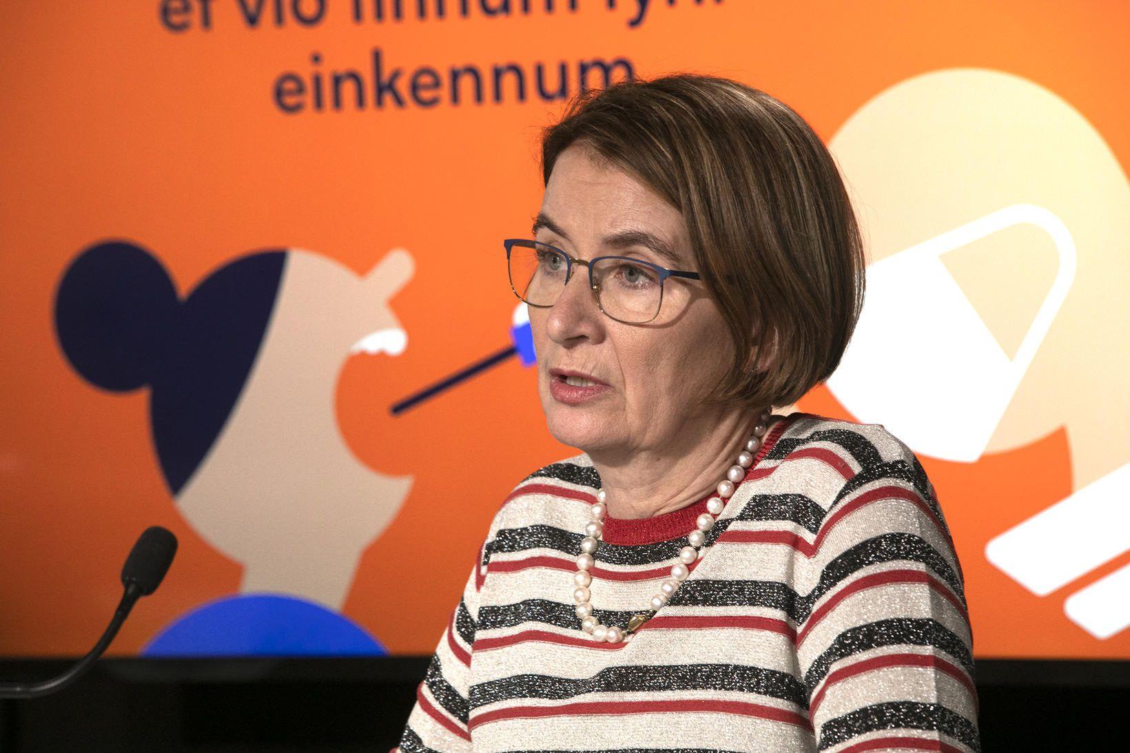 Rúna Hauksdóttir, forstjóri Lyfjastofnunar, ítrekar að tengsl milli andlátsins og …