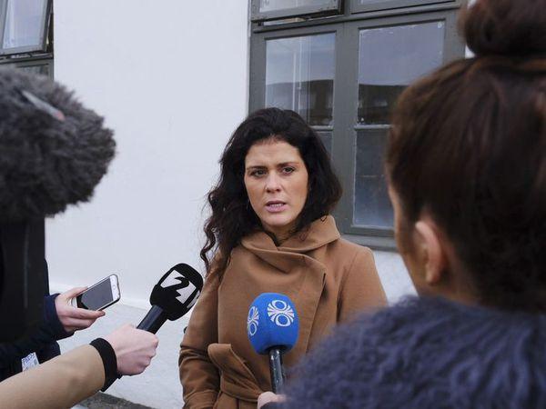 Minister of Tourism Þórdís Kolbrún Reykfjörð Gylfadóttir.
