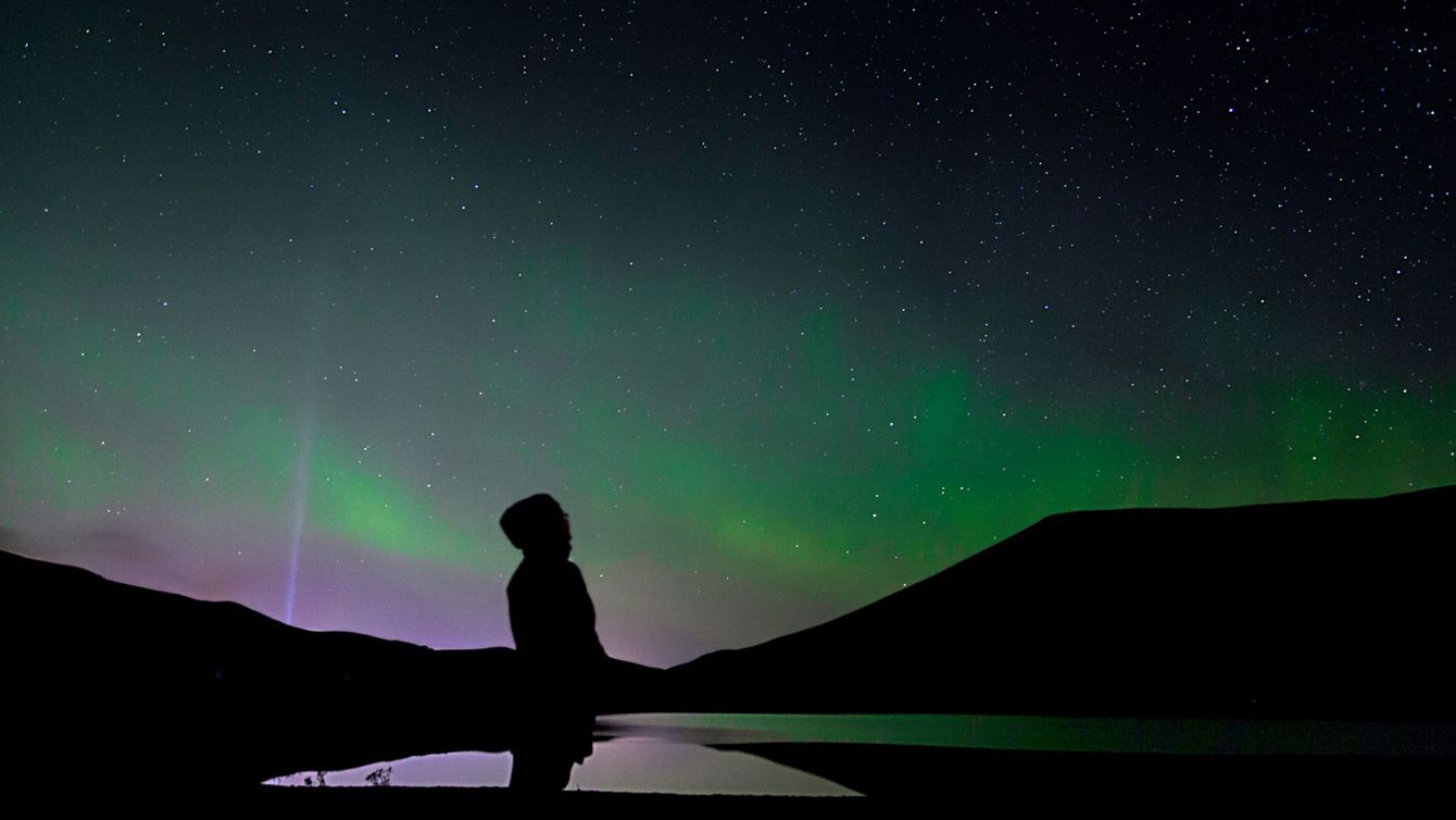 Hunting for the northern lights