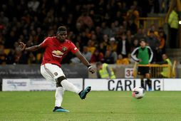 Paul Pogba átti ekki góðan leik gegn Southampton.