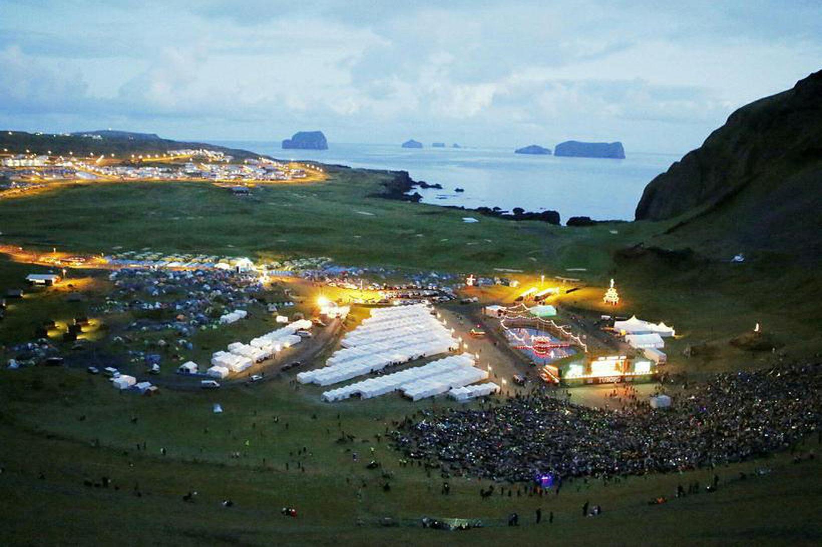 Brotið átti sér stað á Þjóðhátíð.