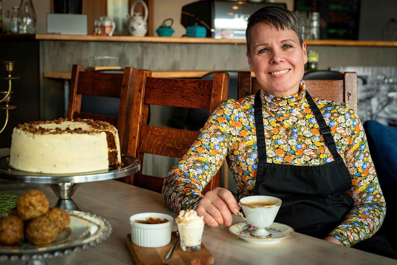 Karen Jónsdóttir eða Kaja eins og hún er jafnan kölluð.