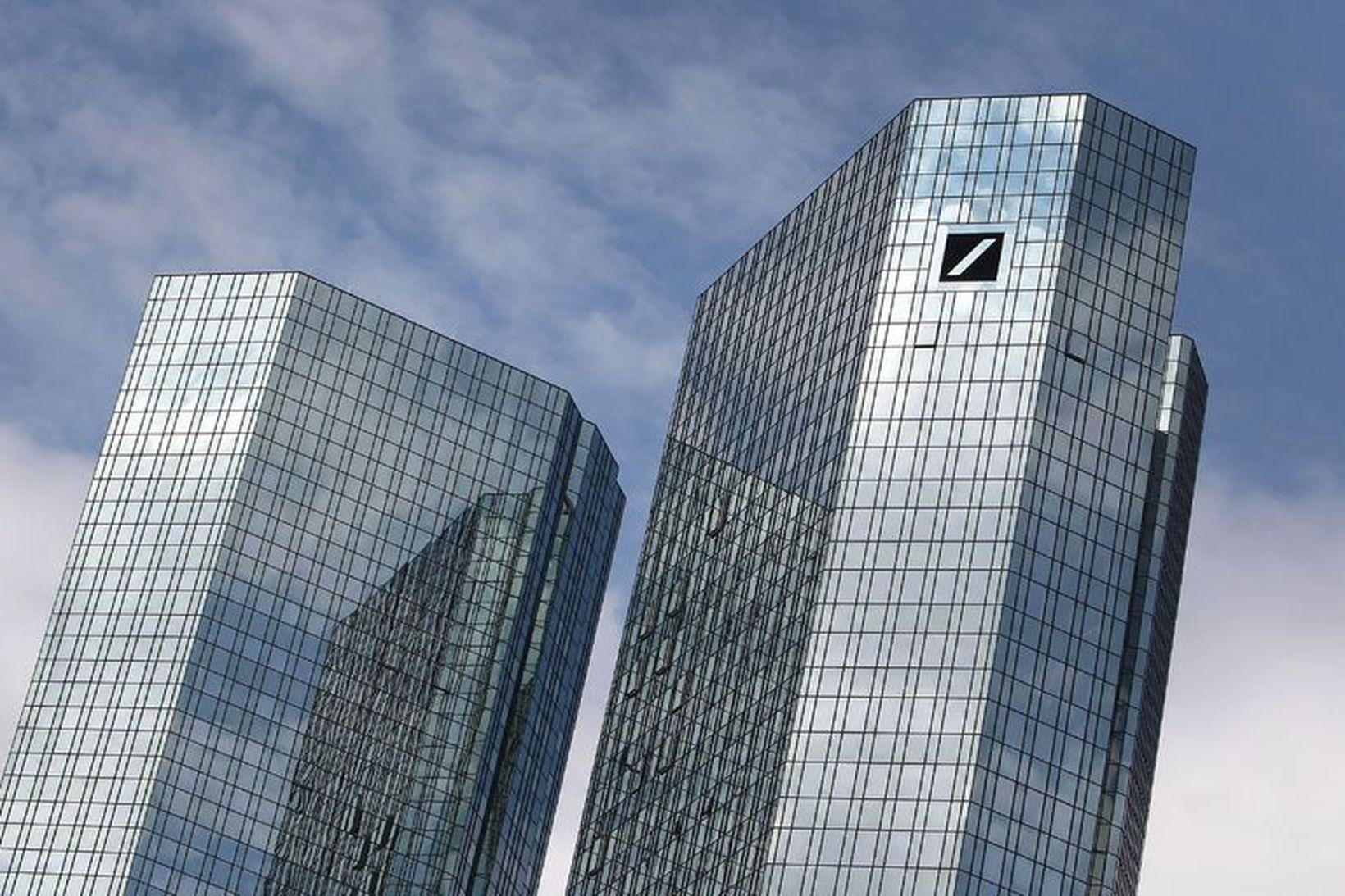 Deutsche Bank er með starfstöðvar í 58 löndum víðsvegar um …