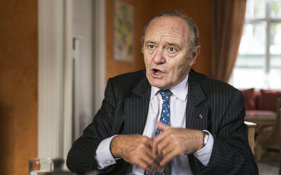 Yves-Thibault de Silguy, fyrrverandi framkvæmdarstjóri hjá Evrópusambandinu.
