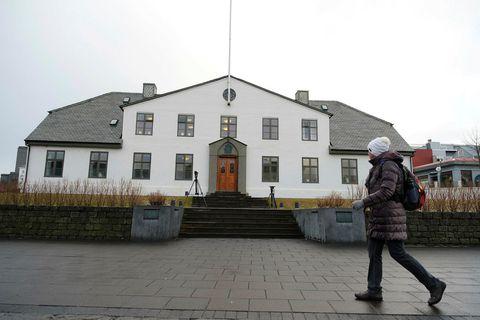 Stjórnarráðið við Lækjargötu.
