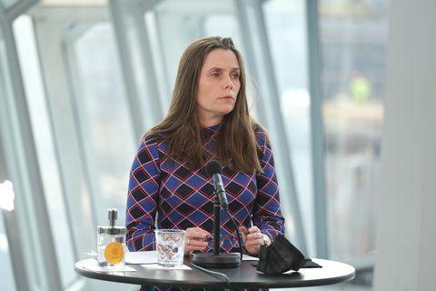 Katrín Jaokbosdóttir forsætisráðherra.