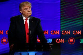 """Donald Trump hefur kallað fjölmiðla """"óvini fólksins"""". Á morgun munu leiðarahöfundar yfir 100 fjölmiðla gagnrýna ..."""