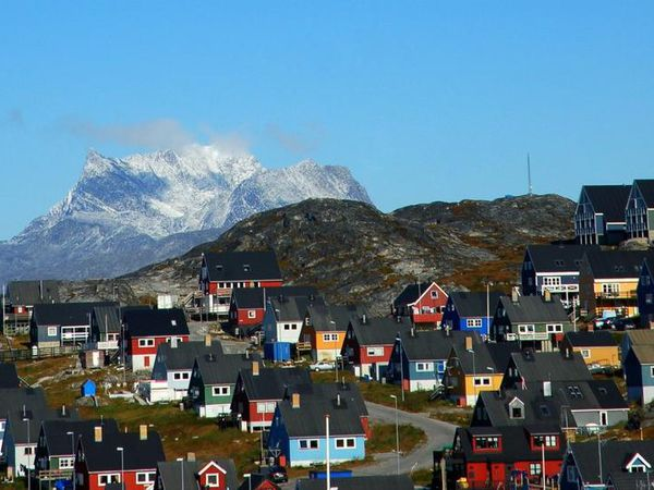From Nuuk, the capital of Greenland.