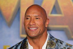 Leikarinn Dwayne Johnson, einnig þekktur sem The Rock.