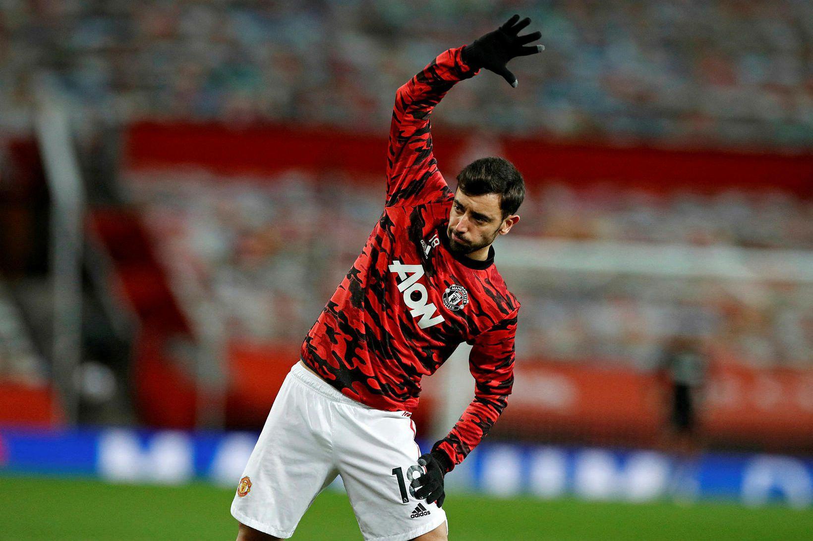 Bruno Fernandes hefur verið besti leikmaður United síðan hann gekk …