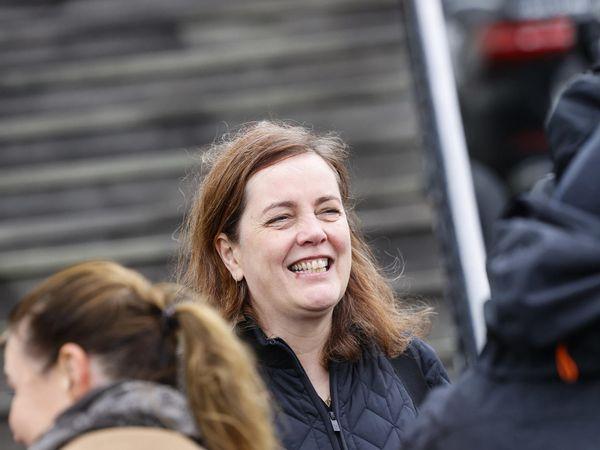 Minister of Health Svandís Svavarsdóttir, following the government meeting.
