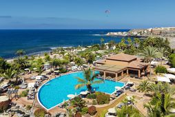 H10 Costa Adeje Palace hótelið á Tenerife.
