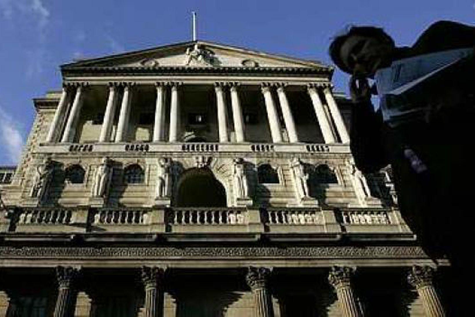 Höfuðstöðvar Englandsbanka.