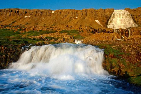 Dynjandi is considered by many one of the most stunning waterfalls in Iceland.