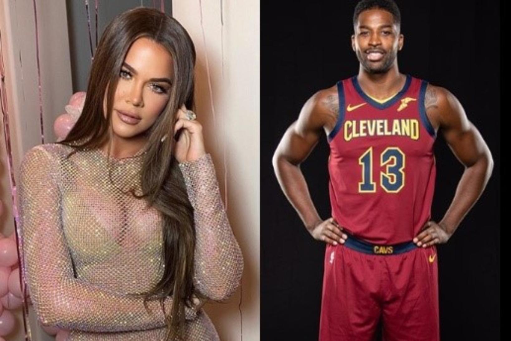 Khloé Kardashian og Tristan Thompson eru byrjuð aftur saman.