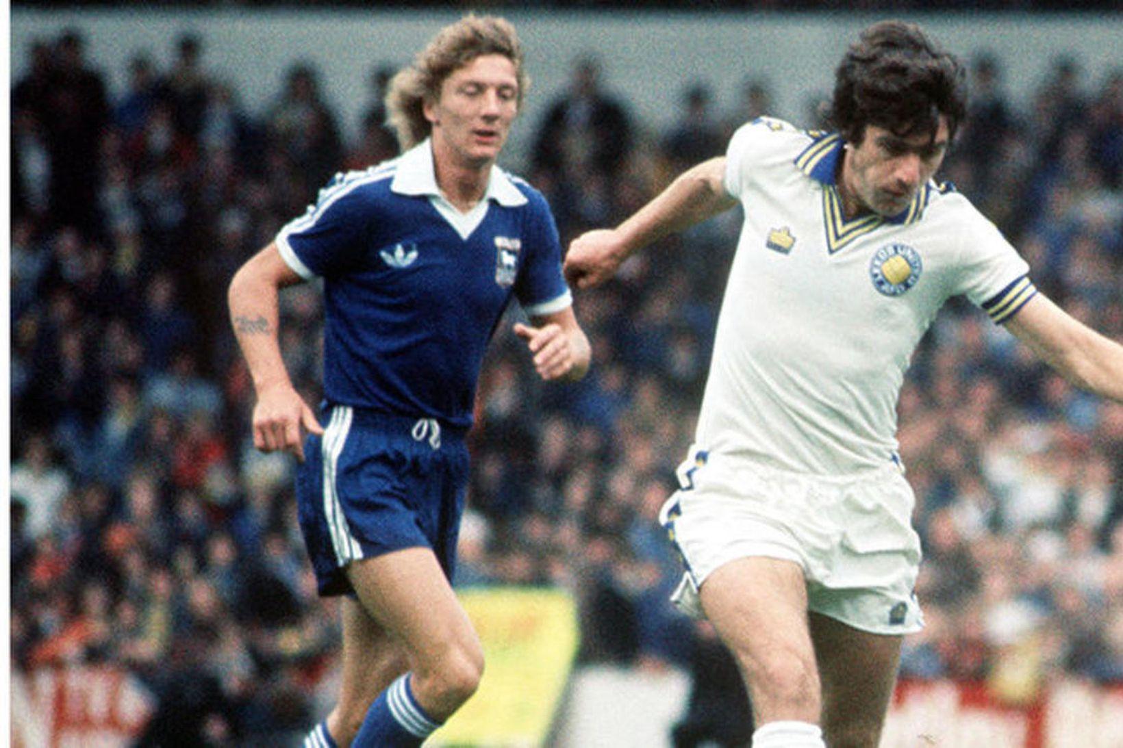 Peter Lorimer átti magnaðan feril með Leeds.
