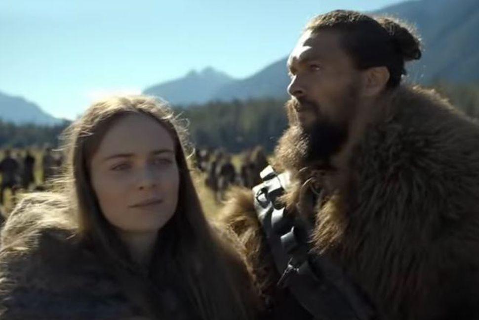 Hera Hilmarsdóttir og Jason Momoa fara með aðalhlutverk í þáttunum ...