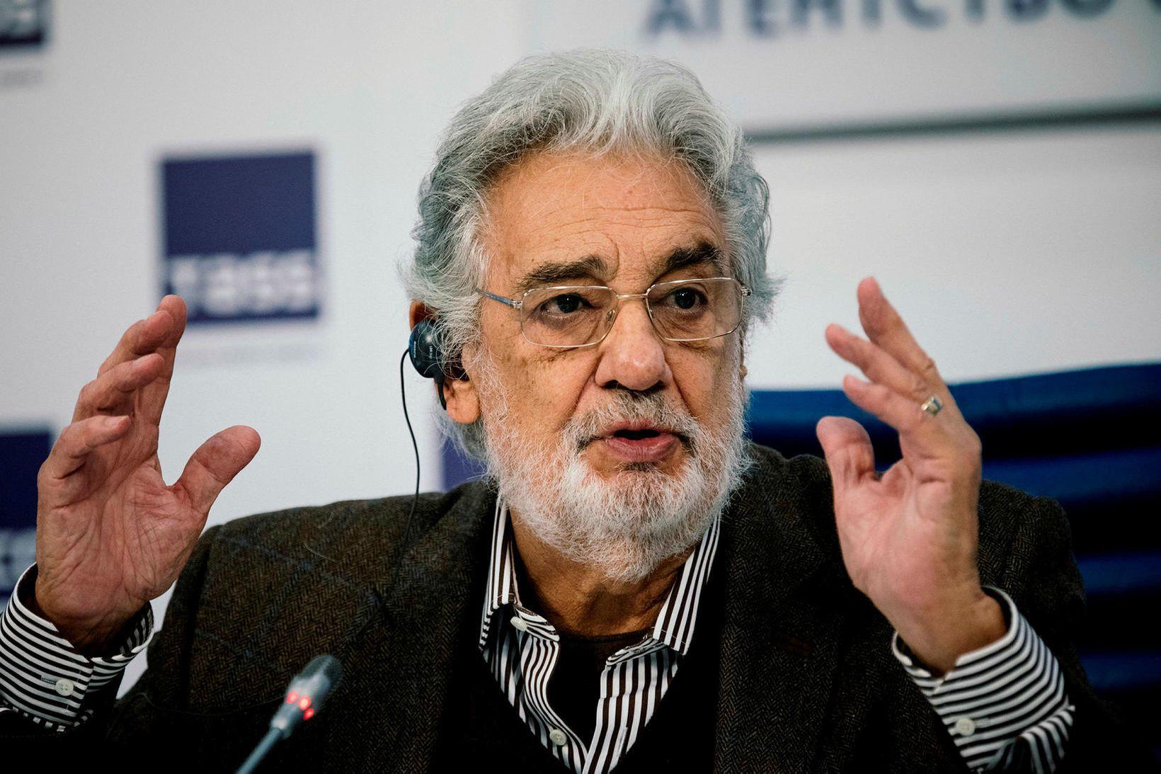Plácido Domingo er einn þeirra fjölmörgu sem hafa greinst með …