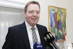 Sigmundur Davíð Gunnlaugsson, formaður Framsóknar.