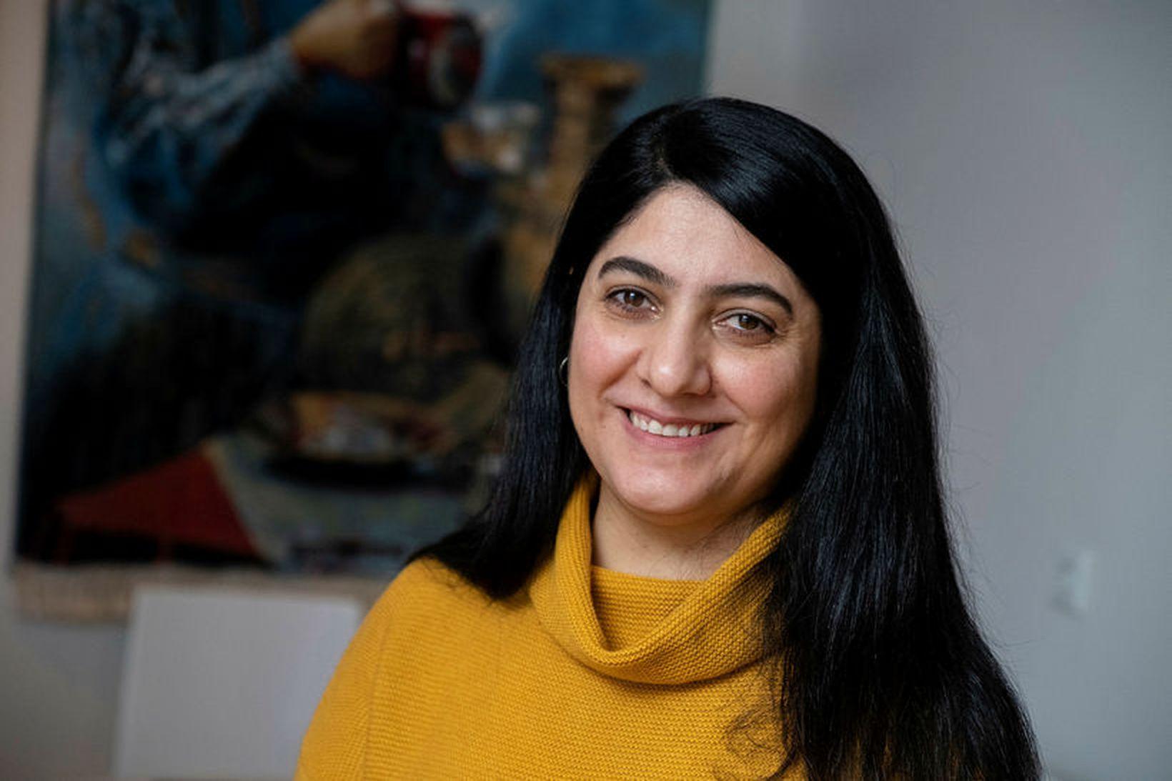Susan Rafik Hama, doktorsnemi á menntavísindasviði Háskóla Íslands.