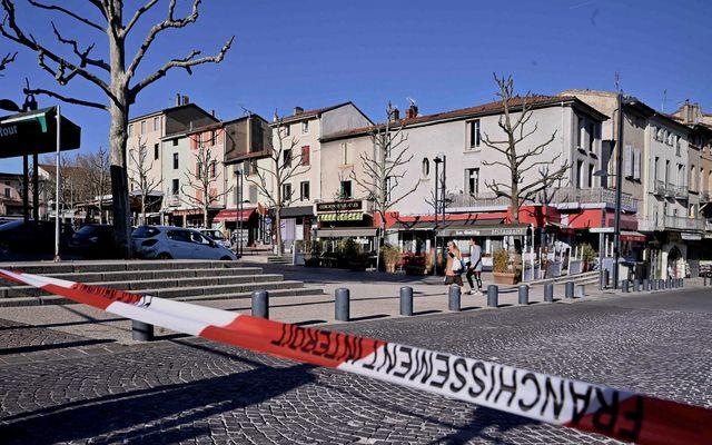 Frá miðbæ Romans-sur-Isère.