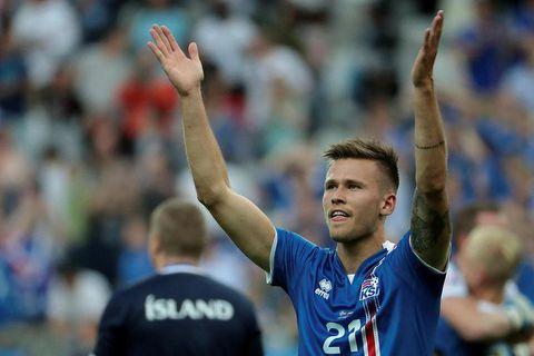 Arnór Ingvi Traustason scored Iceland's winning goal in their last match against Finland.