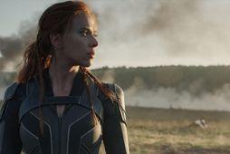 Scarlett Johansson í hlutverki Svörtu ekkjunnar.