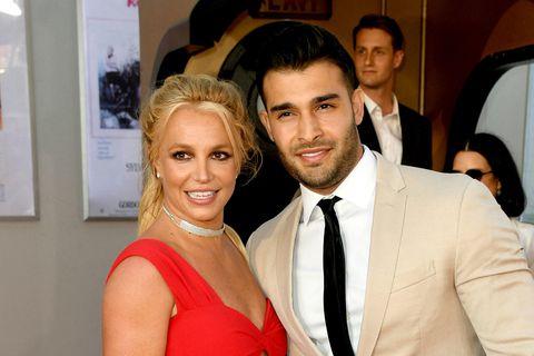 Britney Spears og Sam Asghari.