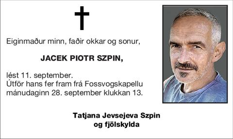 Jacek Piotr Szpin,