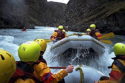 There are two rivers for rafting in Skagafjörður, Austari jökulsá and Vestari jökulsá.