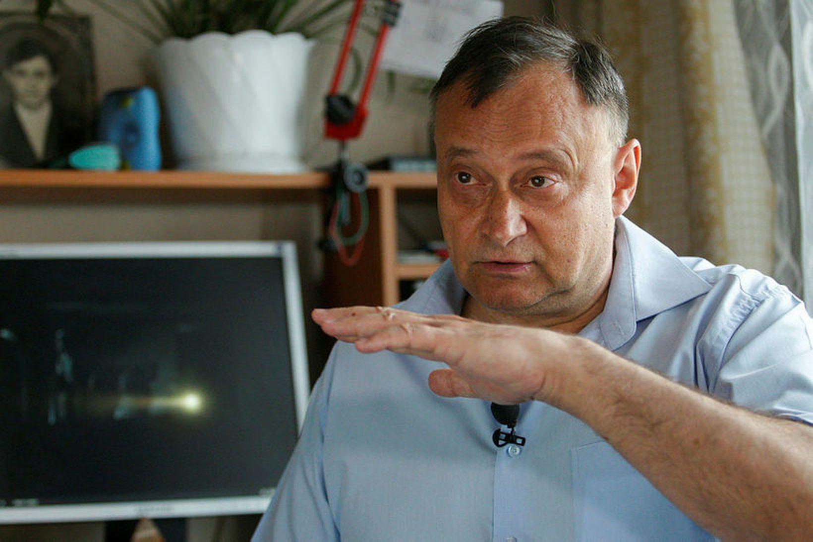 Oleksíj Ananenko settist niður með blaðamönnum AFP í Úkraínu.