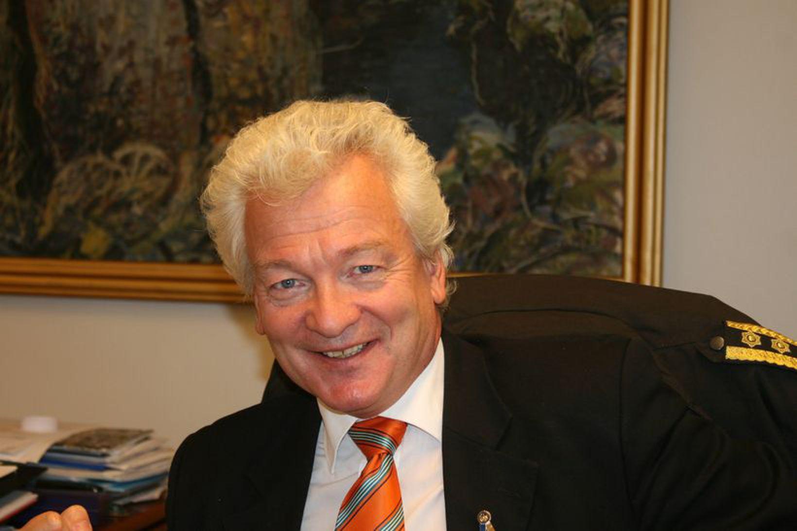 Ólafur Helgi Kjartansson, sýslumaður á Selfossi.