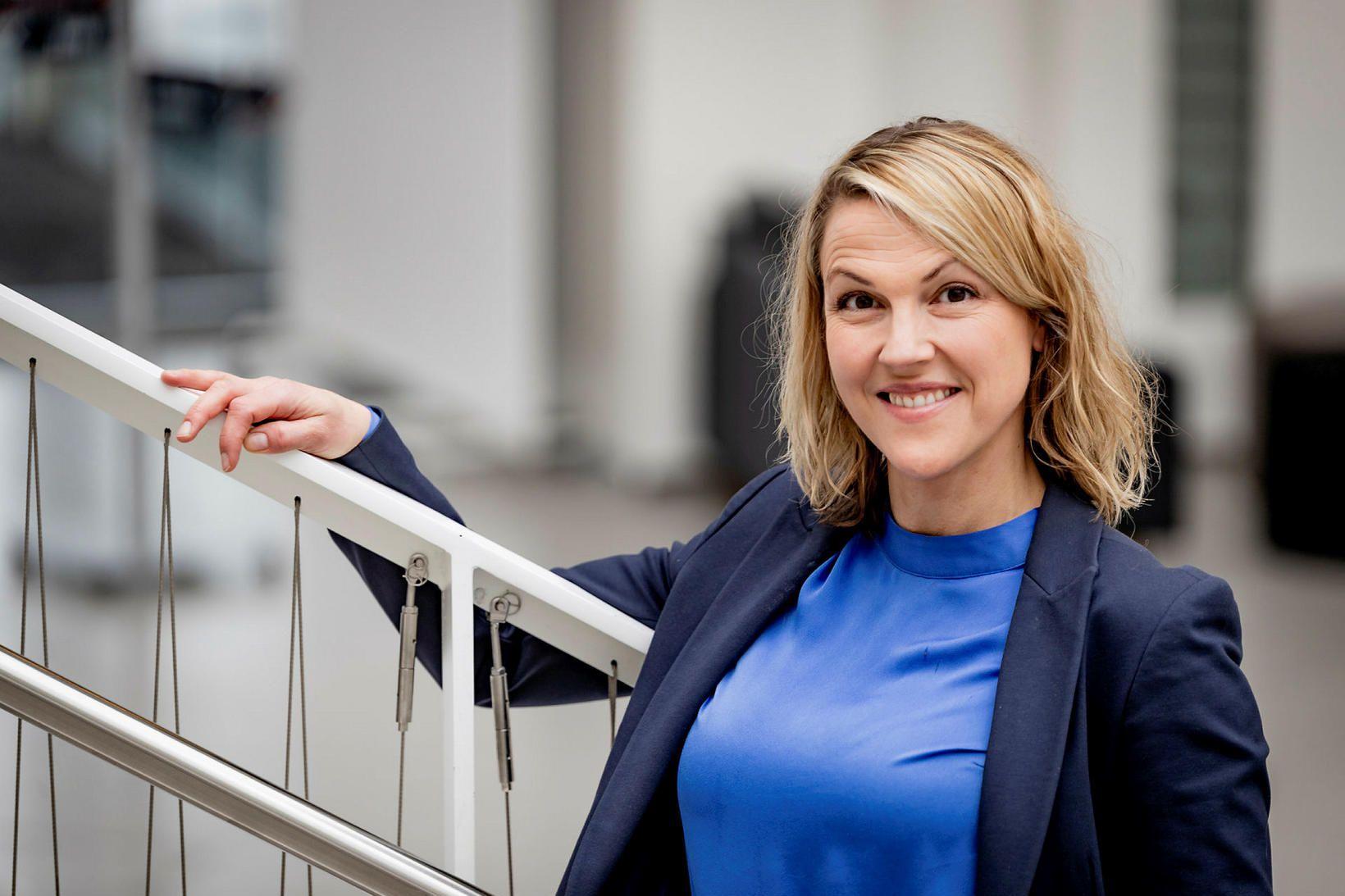 Hera Grímsdóttir er forseti iðn- og tæknifræðideildar HR.