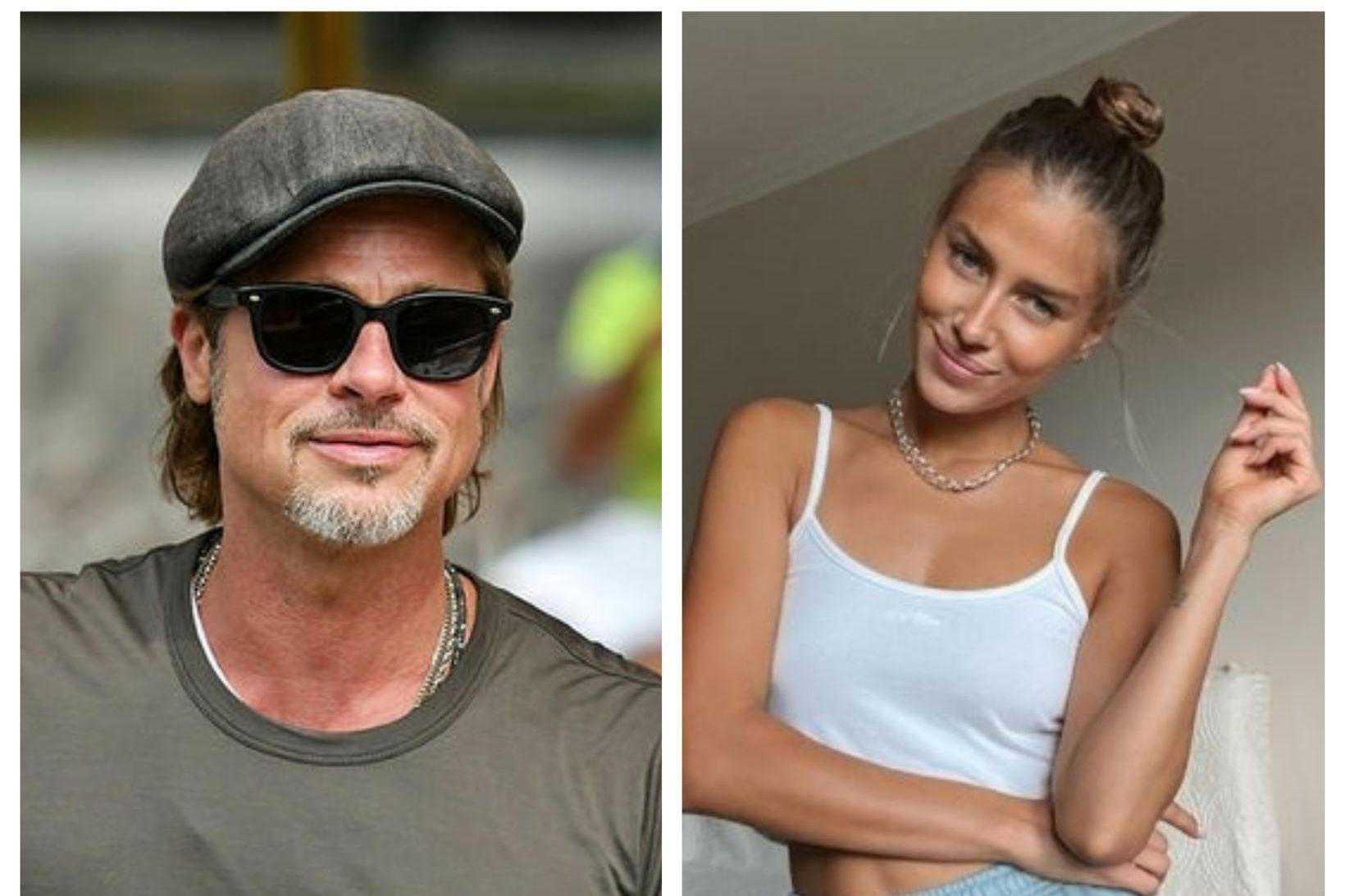 Ástarsambandi Brad Pitt og Nicole Poturalski er lokið.