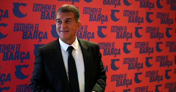 Joan Laporta var forseti Barcelona frá 2003 til 2010.