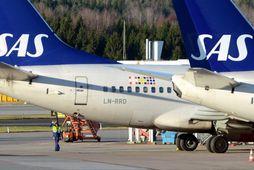 SAS er eitt þeirra stóru flugfélaga sem flýgur ekki lengur yfir Hvíta-Rússland.