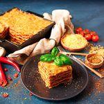 Ómótstæðilegt lasagna með lúxus ostasósu