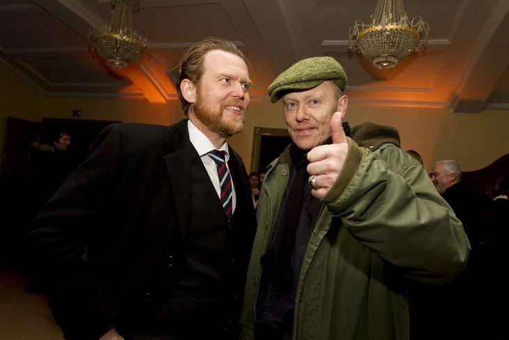 Sigurður Björn Blöndal og Jón Gnarr