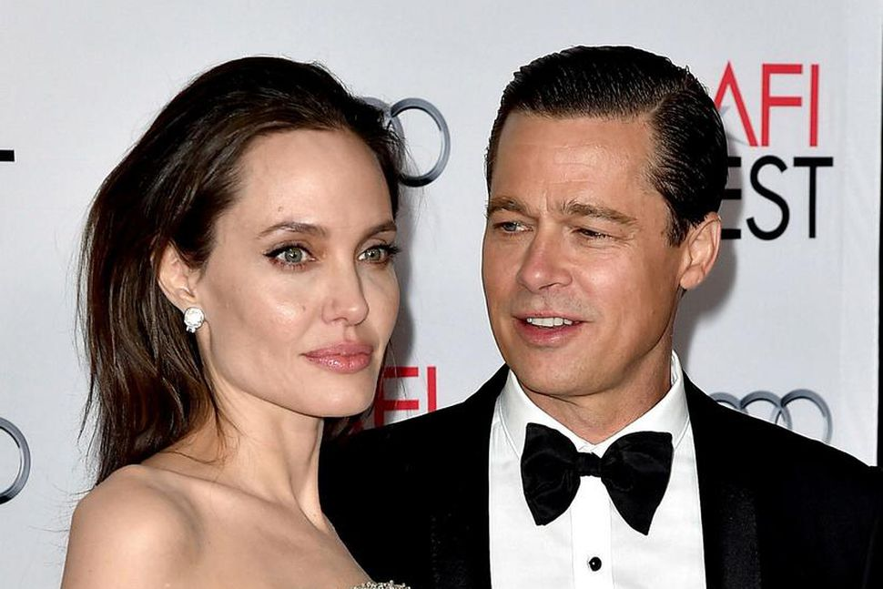Angelina Jolie Pitt og Brad Pitt.