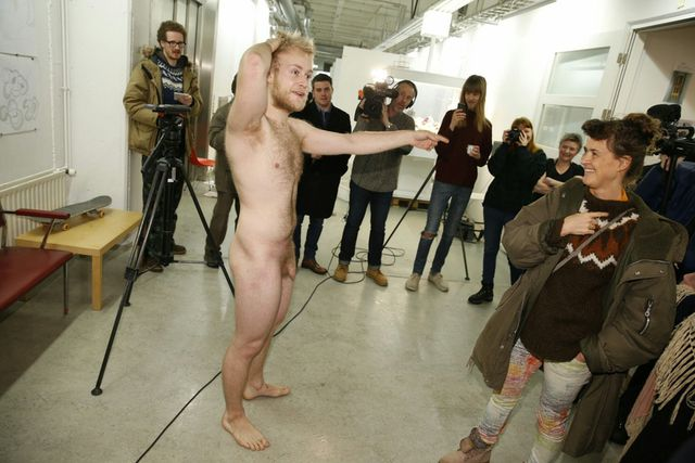 Iceland men nude attractively