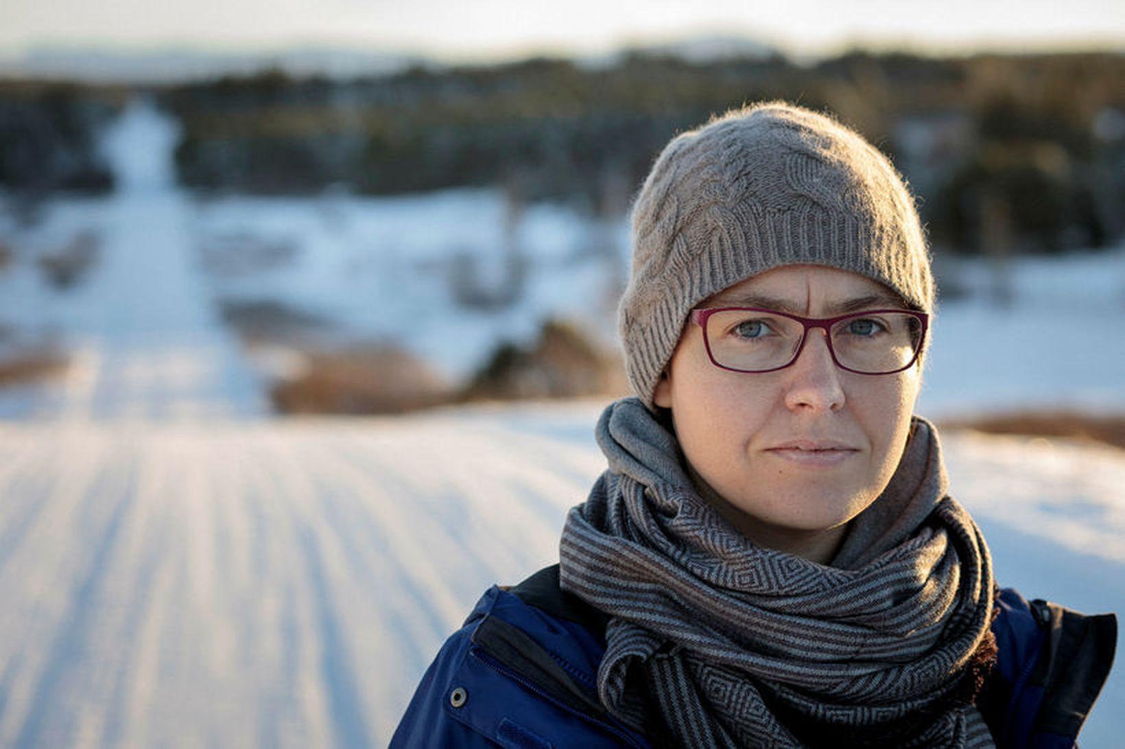 Hjördís Árnadóttir.