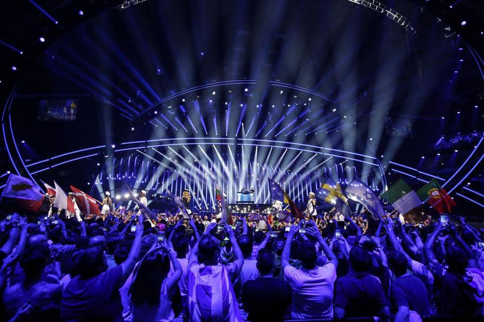 Eurovision-keppnin verður haldin í maí.