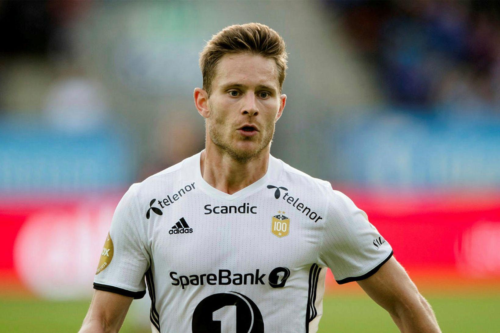 Matthías Vilhjálmsson átti góða tíma með Rosenborg.